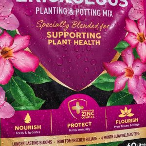 ericaceous planting potting mix