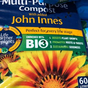 multi purpose compost with added john innes